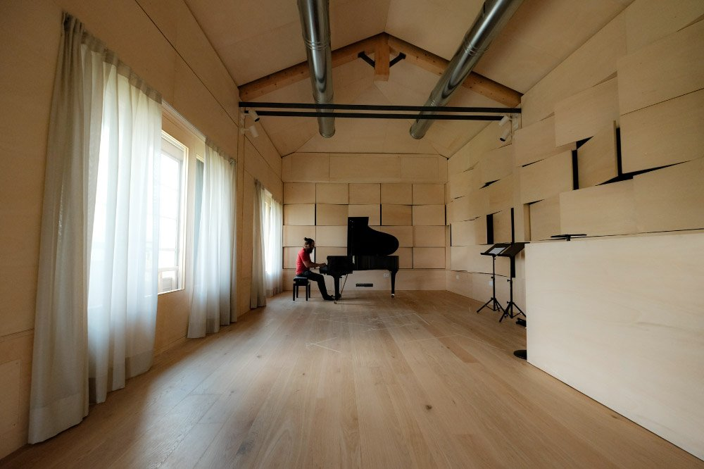 Casa della Musica San Michele - Live Room con Pianoforte